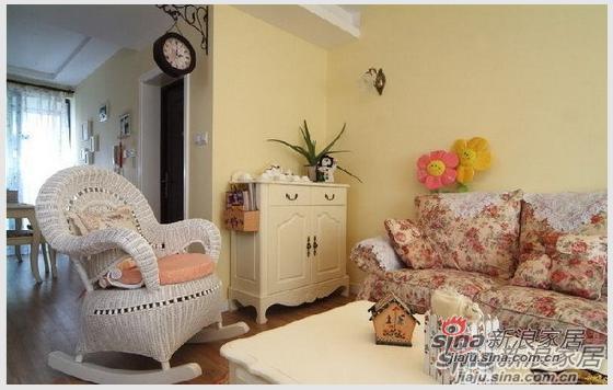 田园 三居 客厅图片来自用户2557006183在12万装3室婚房田园家18的分享