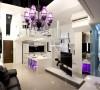 【高清】未来感十足的36平黑白紫loft18