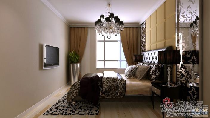 简约 二居 卧室图片来自用户2737950087在贻成豪庭两居室简约设计效果图10的分享