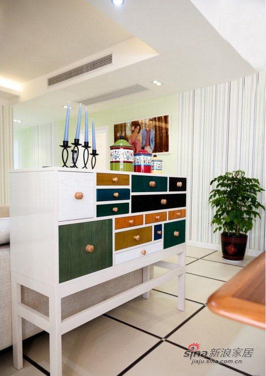 现代 二居 餐厅图片来自装修微日记在【高清】小夫妻晒77平现代温馨浪漫婚房40的分享