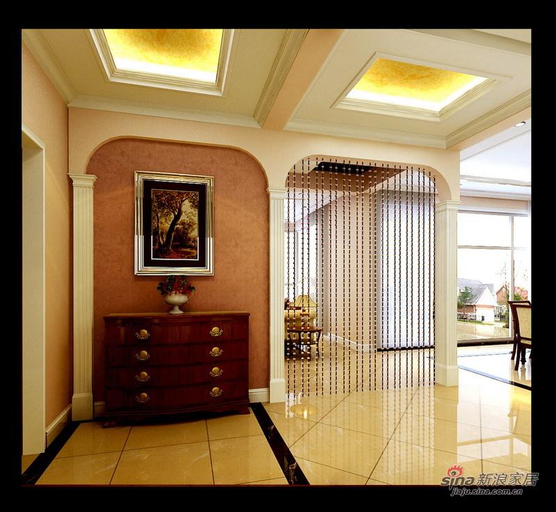 欧式 别墅 客厅图片来自用户2557013183在13万打造怀柔200平简欧风格别墅62的分享