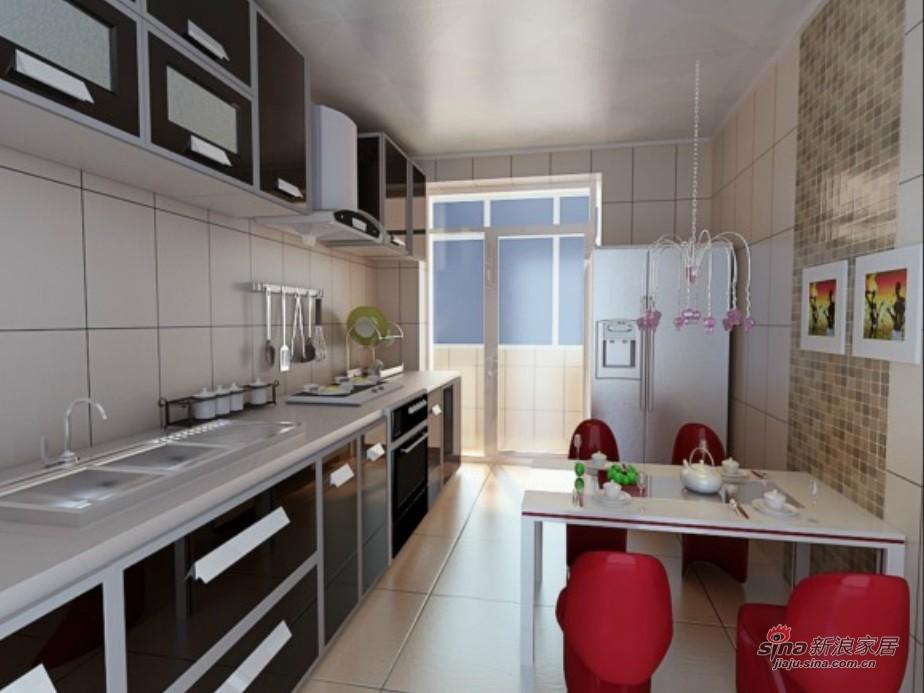 简约 三居 厨房图片来自用户2737759857在6.3万搞定108平简约时尚潮流三居室57的分享