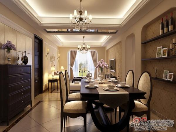 餐厅的墙壁装饰,透露高贵品质