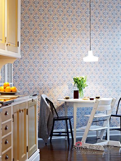 美式的小餐桌设置,有情调并利用好空间