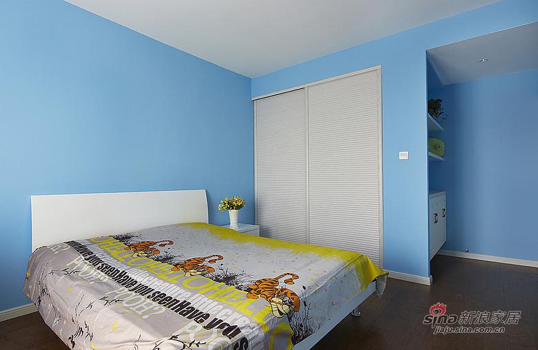 现代 三居 儿童房 文艺青年图片来自装修微日记在【高清】9万打造135平现代素雅空间17的分享