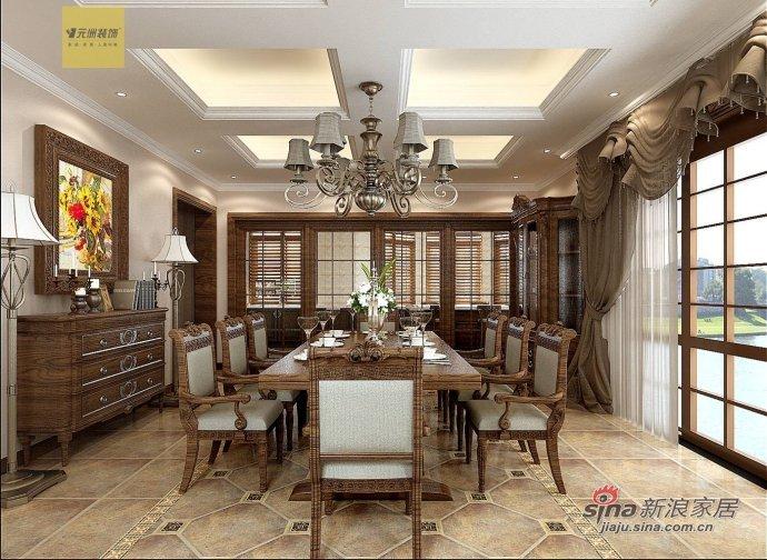 新古典 别墅 餐厅图片来自用户1907701233在【高清】古典风格别墅设计48的分享