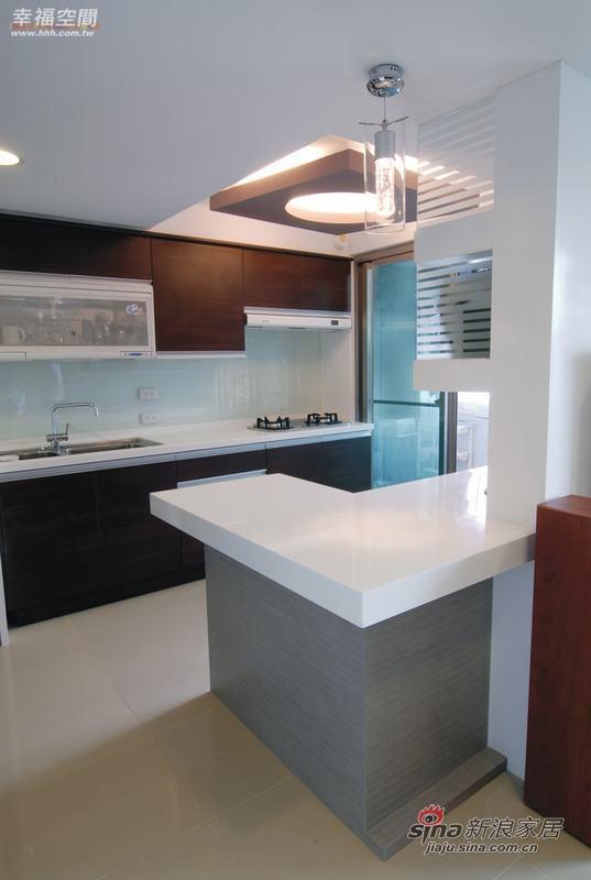 简约 复式 厨房图片来自幸福空间在积极规划60平米舒宜居复式家84的分享