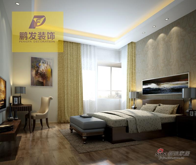 简约 二居 卧室图片来自用户2557010253在保集玫瑰湾46的分享