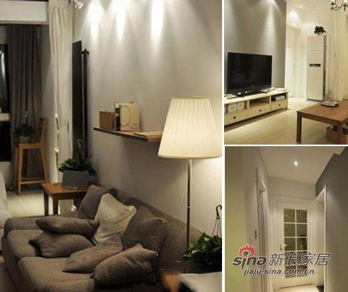 简约 三居 客厅图片来自用户2738829145在11万打造70平韩式田园小屋55的分享