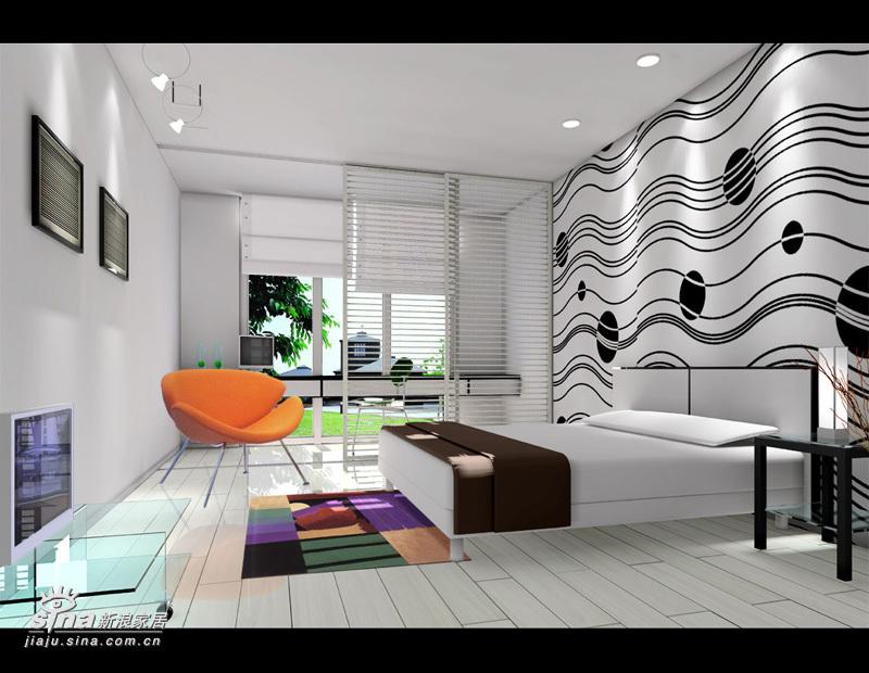 其他 其他 卧室图片来自用户2558746857在缤纷色彩卧室任你畅想51的分享