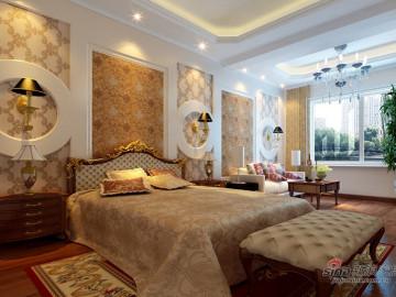 280平古典欧式别墅装修设计79