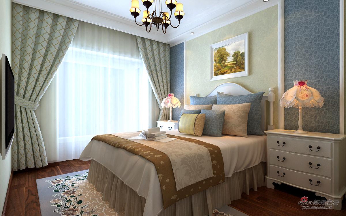 欧式 四居 卧室图片来自用户2746869241在欧式风格漂亮四居室47的分享