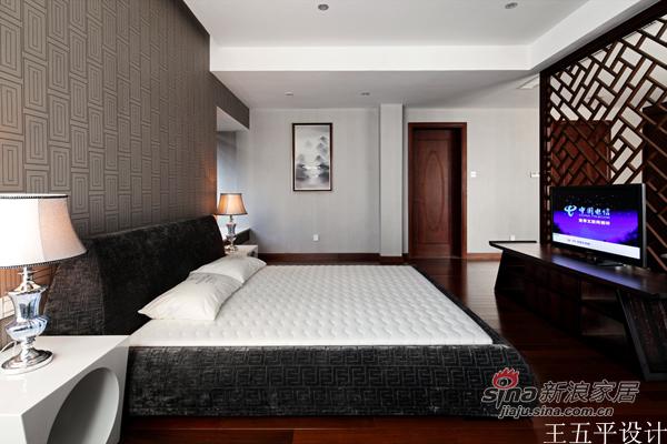 中式 三居 卧室图片来自用户1907659705在【多图】新中式的魅惑27的分享