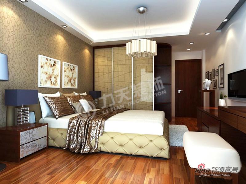 欧式 三居 卧室图片来自阳光力天装饰在【高清】3室2厅简欧风奢华美家63的分享