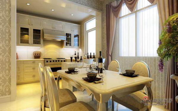 低调奢华欧式厨房