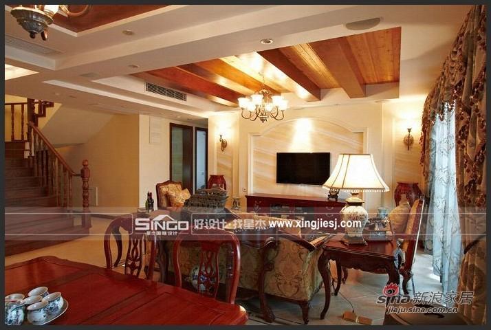 其他 复式 客厅图片来自用户2558757937在低调不失高贵的美式风格50的分享