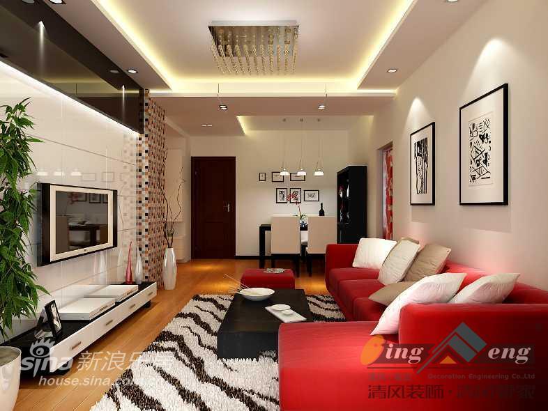 其他 别墅 客厅图片来自用户2558746857在苏州清风装饰设计师案例赏析1625的分享