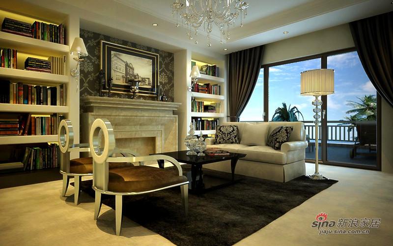欧式 别墅 书房图片来自用户2772873991在全力打造450平保利垄上欧式新古典设计72的分享
