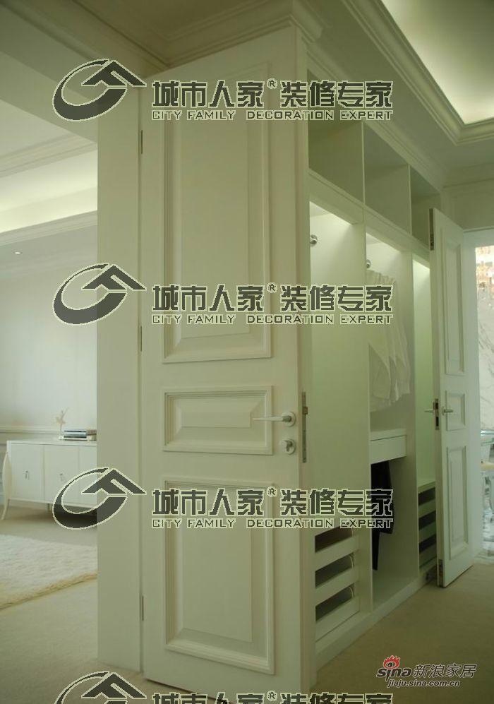 欧式 别墅 衣帽间图片来自用户2557013183在天津城市人家——蓟县别墅简欧风格26的分享