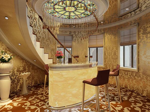 新古典 别墅 书房图片来自用户1907701233在嘉禾城别墅34的分享