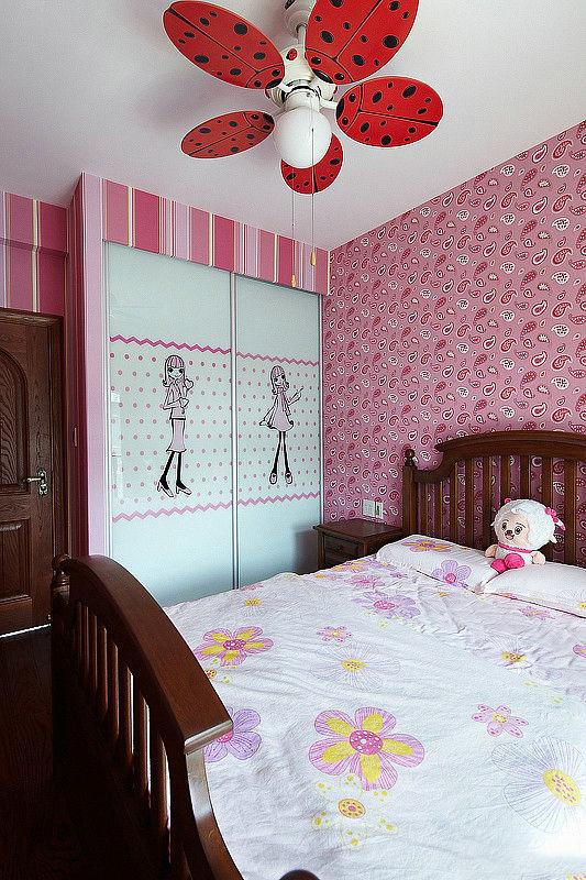 田园 loft 卧室图片来自用户2557006183在温馨田园100平华贸城loft12的分享