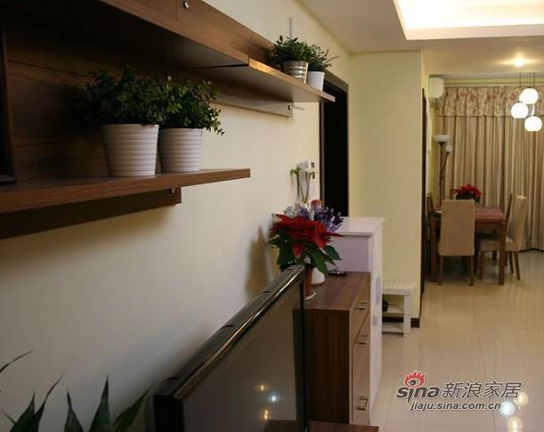简约 三居 客厅图片来自用户2738829145在10万打造144㎡简约婚房15的分享