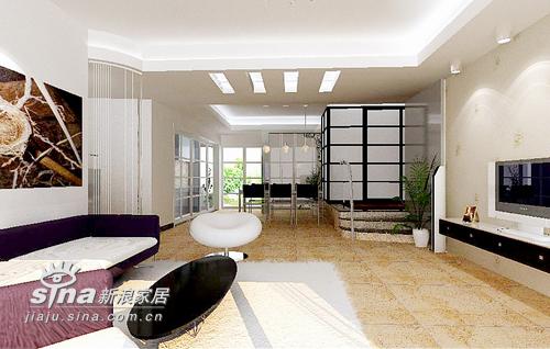简约 三居 客厅 旧房改造图片来自用户2737735823在紫金华庭39的分享