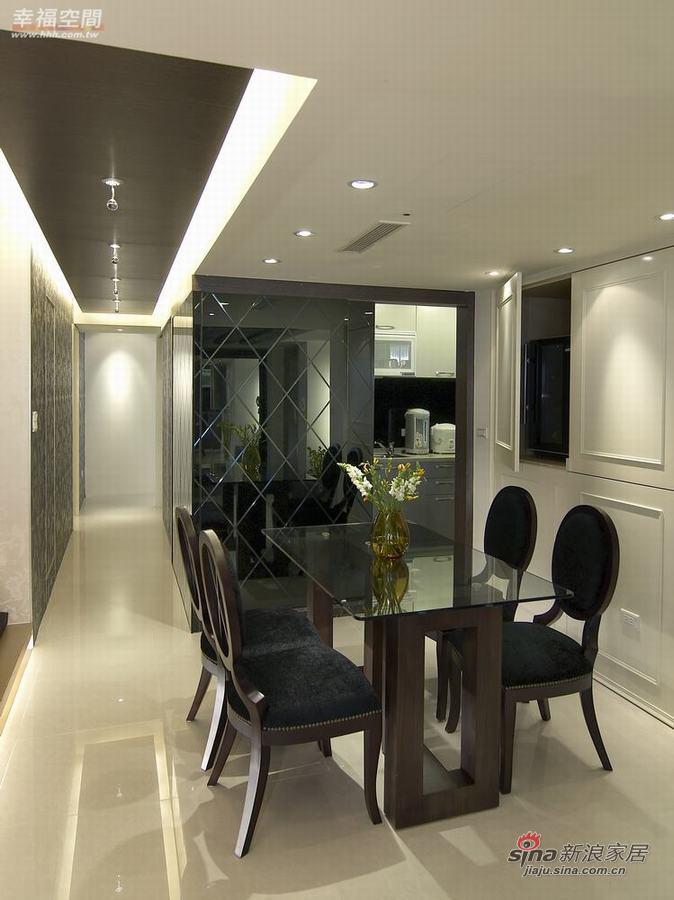 新古典 一居 餐厅图片来自幸福空间在73平单身公寓展现东方华丽72的分享