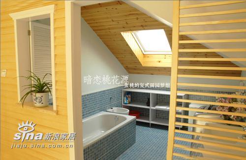 简约 复式 卫生间图片来自用户2558728947在超甜美田园风情复式居室设计220的分享