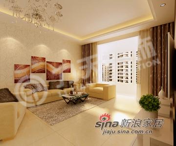 现代 二居 客厅图片来自阳光力天装饰在为年轻人打造的奢侈小洋房71的分享