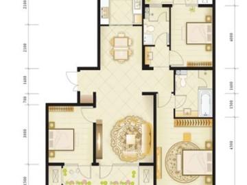 绿城西子公寓140平B2户型装修23