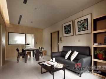 60平三房两厅 小户型的空间魔法86