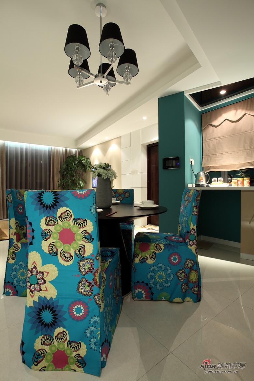 现代 二居 餐厅图片来自装修微日记在【高清】小夫妻94平现代时尚前卫居68的分享