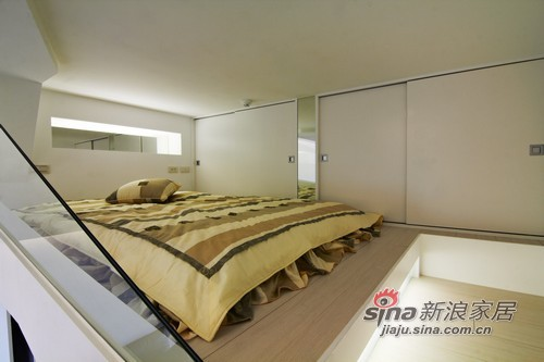 其他 一居 卧室图片来自用户2558746857在40平错落有致小户里的大空间48的分享