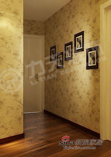 欧式 二居 玄关图片来自阳光力天装饰在品味在不经意中流露--犀地58的分享