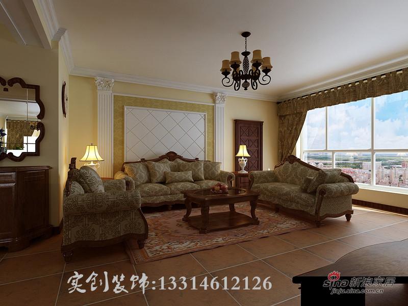 欧式 四居 客厅图片来自用户2772873991在18.7万 打造浪琴水岸 200平 欧式风格96的分享