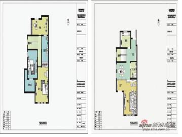 沉稳大气150平米经典三居室79