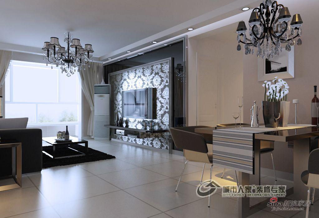 简约 二居 客厅图片来自用户2557979841在90平米现代风格赏析37的分享