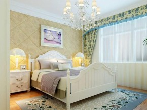 舒适 公主房 温馨 卧室 欧式 现代图片来自贾凤娇在62平大一居的欧式优雅小资生活的分享