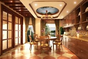 美式 白领 舒适 温馨 自然 80后 高富帅 餐厅图片来自北京合建装饰在美式跃层公寓的分享