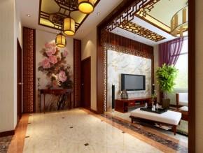 新中式 中式 舒适 白领 玄关图片来自贾凤娇在新中式的别样风华的分享