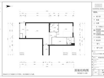 金蝉南里小区一居室设计案例