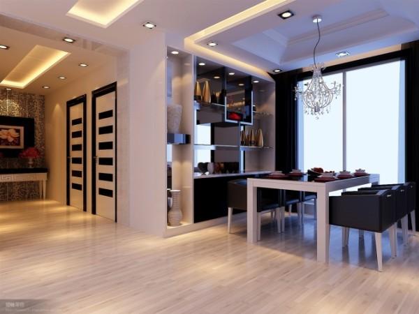 餐厅,走廊,餐边柜为设计亮点