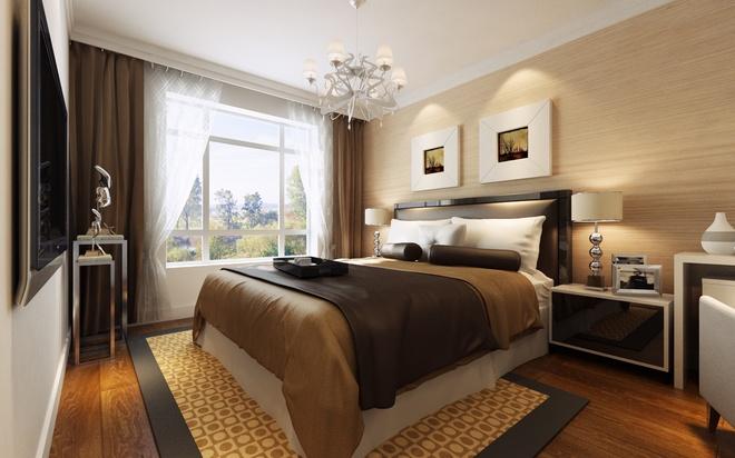 温馨 明亮 舒适 优雅 小资 卧室图片来自贾凤娇在长楹天街温馨大三居的分享