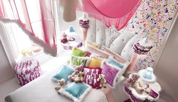 粉色的空间,适合家里的小公主