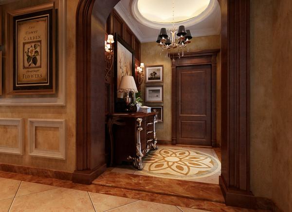 乐曲的前奏、散文的序言的玄关设计理念:在室内和室外的交界处,玄关是一块缓冲之地,是具体而微的一个缩影,是乐曲的前奏、散文的序言,也是风、阳光和温情的通道