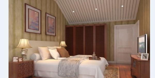 卧室的颜色搭配两种颜色以主色调为主浅蓝灰白。