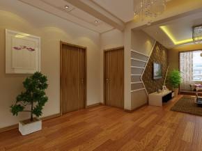 简约 欧式 混搭 二居 旧房改造 大气 温馨 玄关图片来自实创装饰室内设计在暖色85平简约两居,实用更时尚的分享