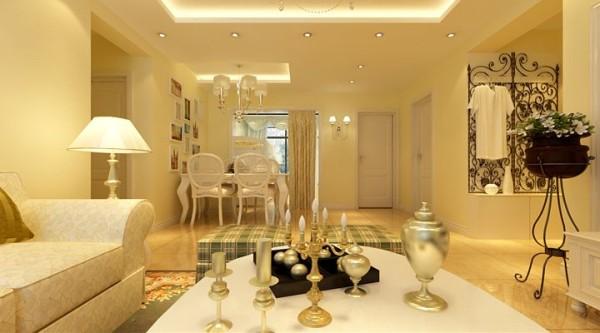 造型优雅的餐桌、餐椅,突出了主人优雅闲适的心态。