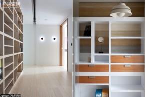 简约 二居 木地板 北欧 现代 收纳 衣帽间图片来自幸福空间在142m²简约经典成就舒适三口窝的分享